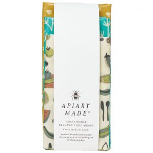 beeswax wrap set three medium sizes
