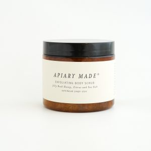 honey sea salt body scrub