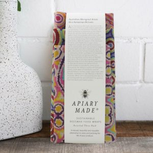 Apiary Made Beeswax Wraps - Illustrated - Assorted Pack