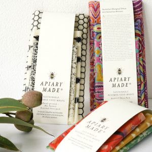 Beeswax wrap bundle three packs