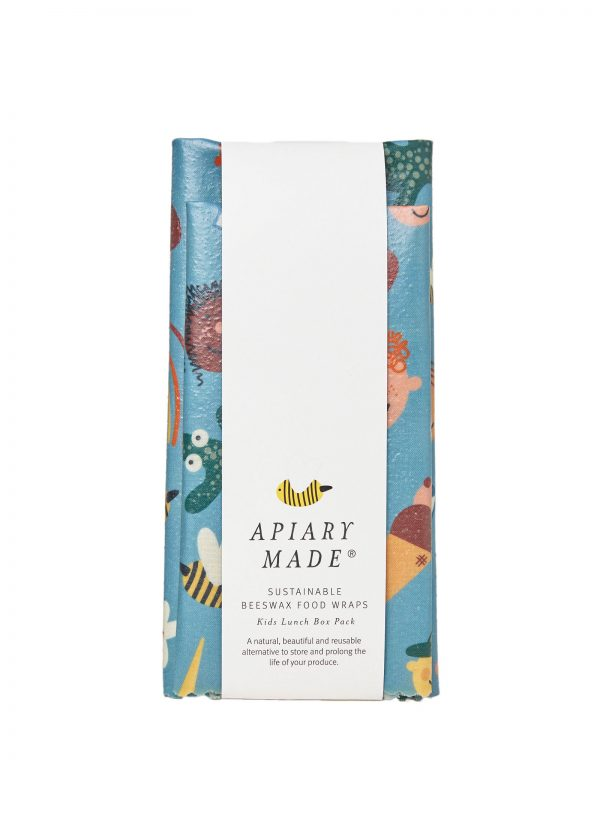 beeswax wrap set kids print